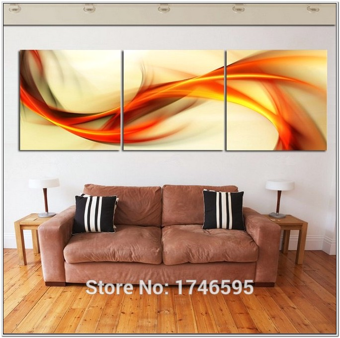 3 Pc Wall Decor For Living Room