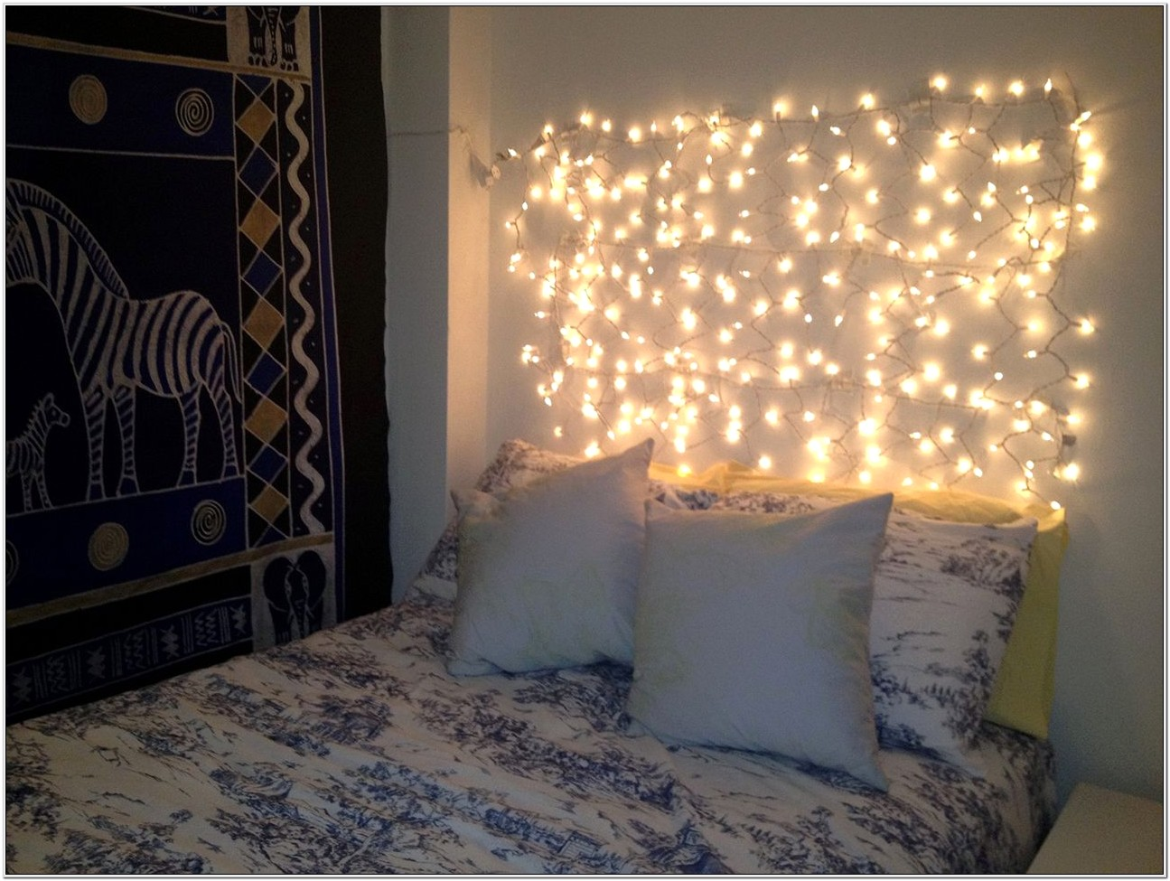 Bedroom Decorating Ideas With String Lights