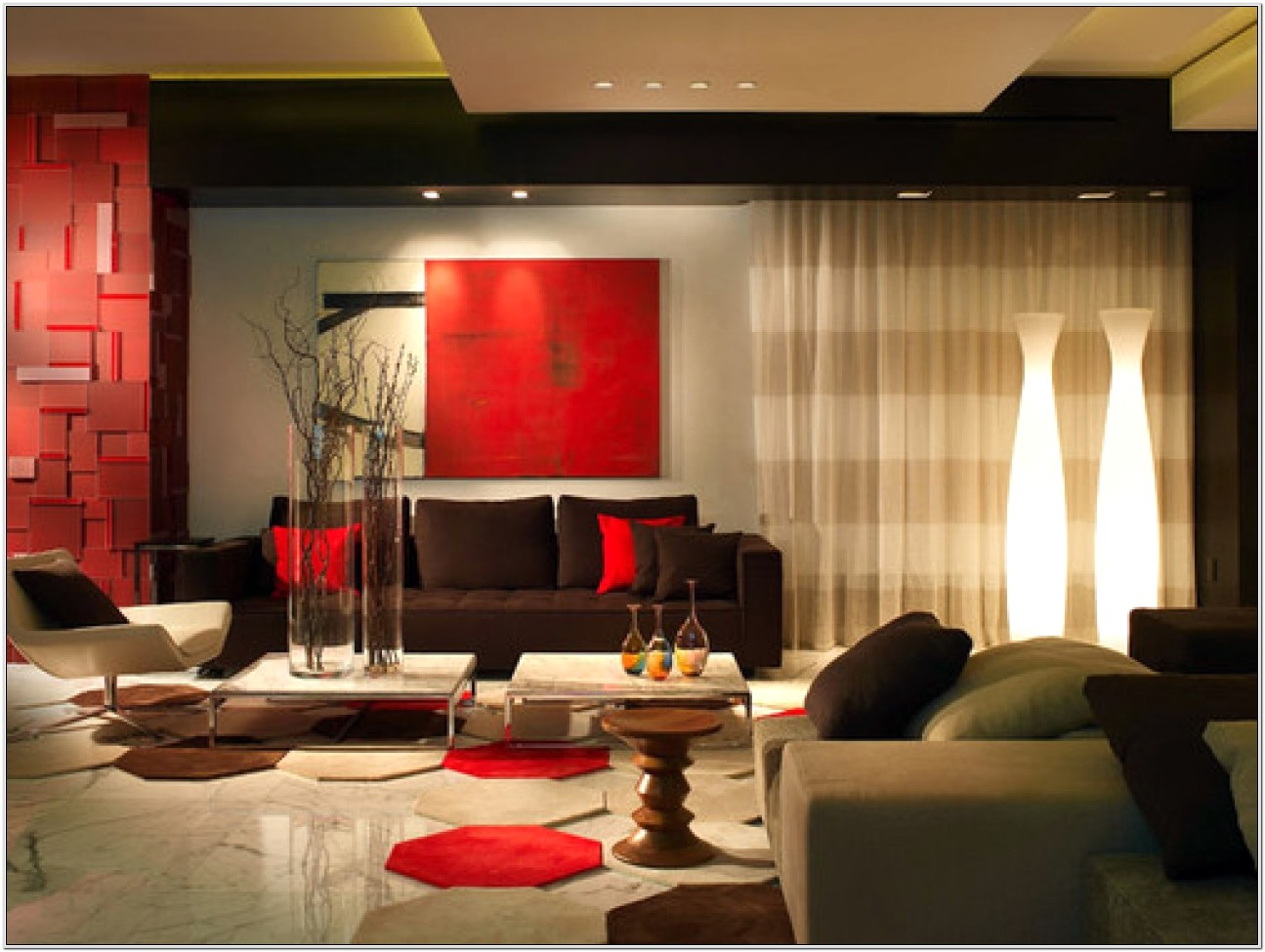 Beige And Brown Living Room Decorating Ideas