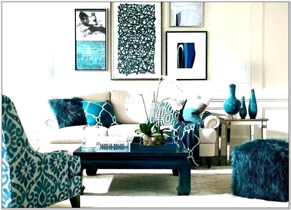 Beige And Turquoise Living Room Ideas