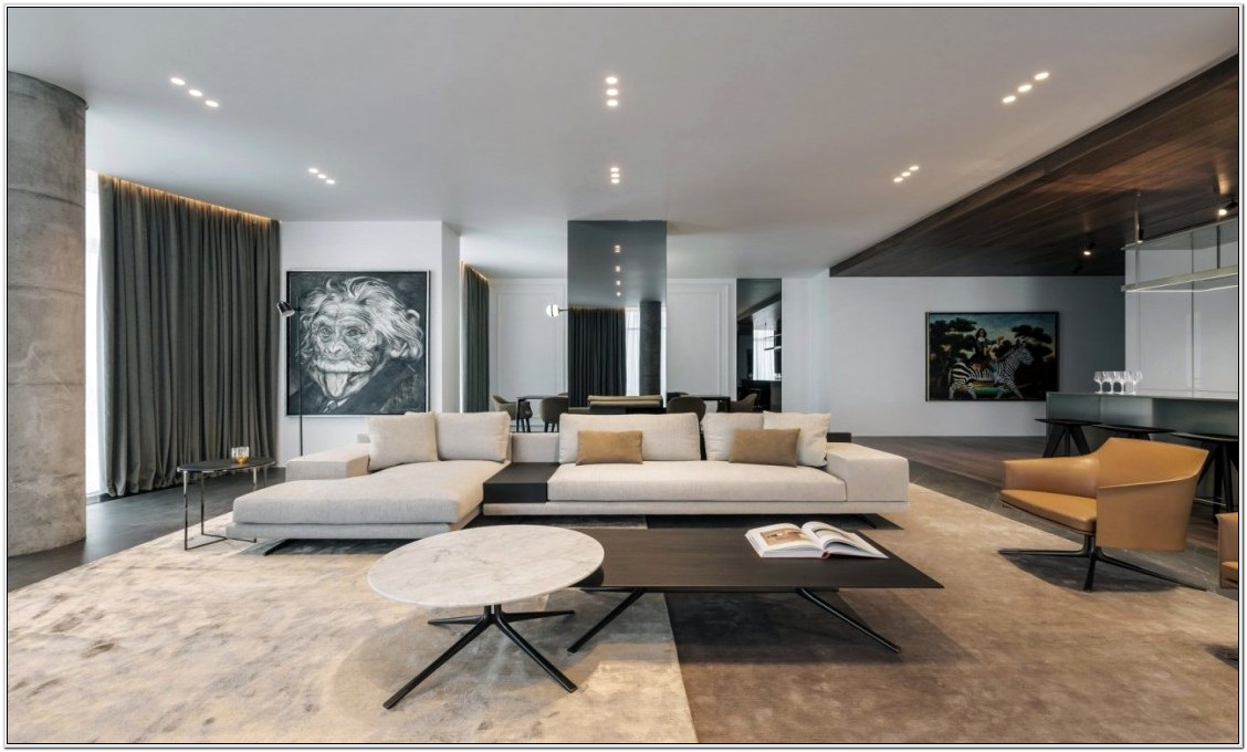 Big Sectional In Small Living Room