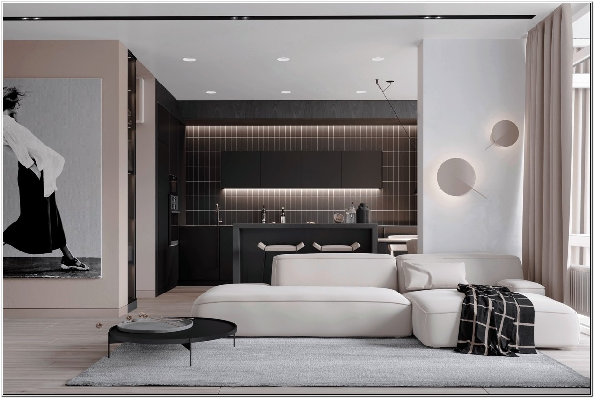 Black And Pink Living Room Ideas