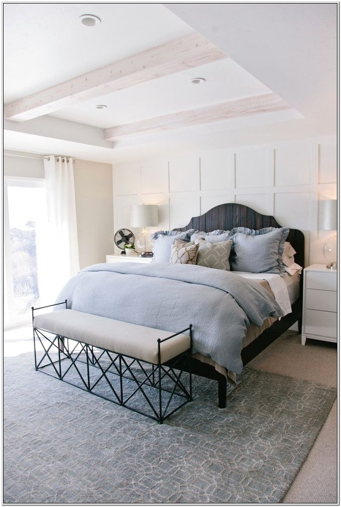 Blue And Grey Bedroom Decor