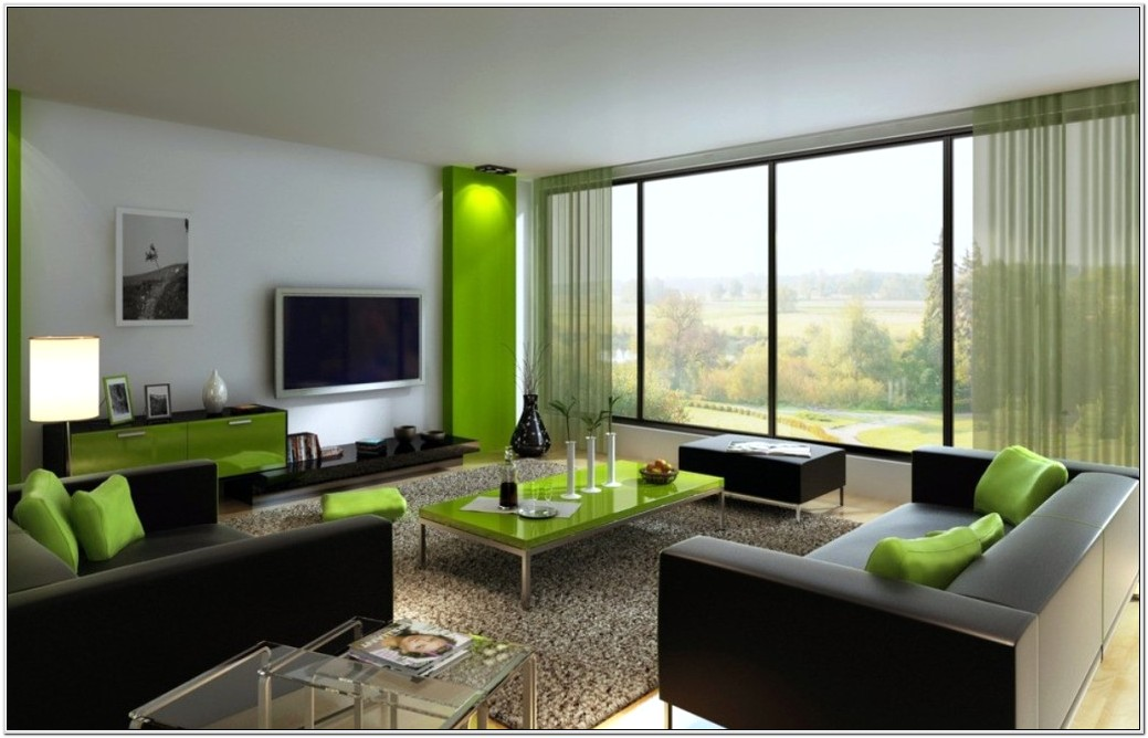 Brown And Moss Green Living Room Ideas