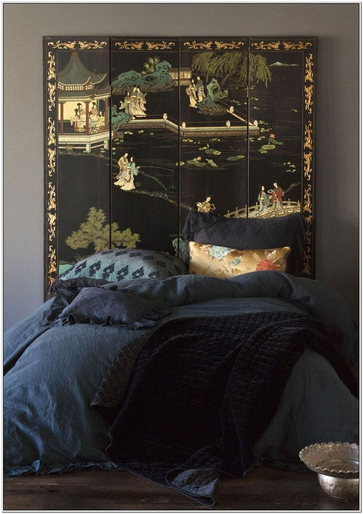 Chinese Inspired Bedroom Decor