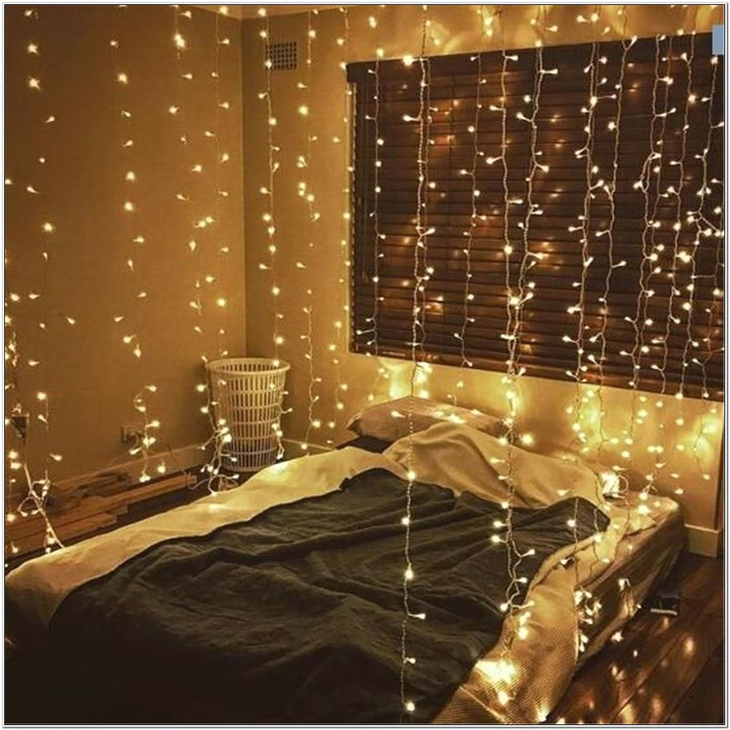 Christmas Lights Decorations In Bedroom