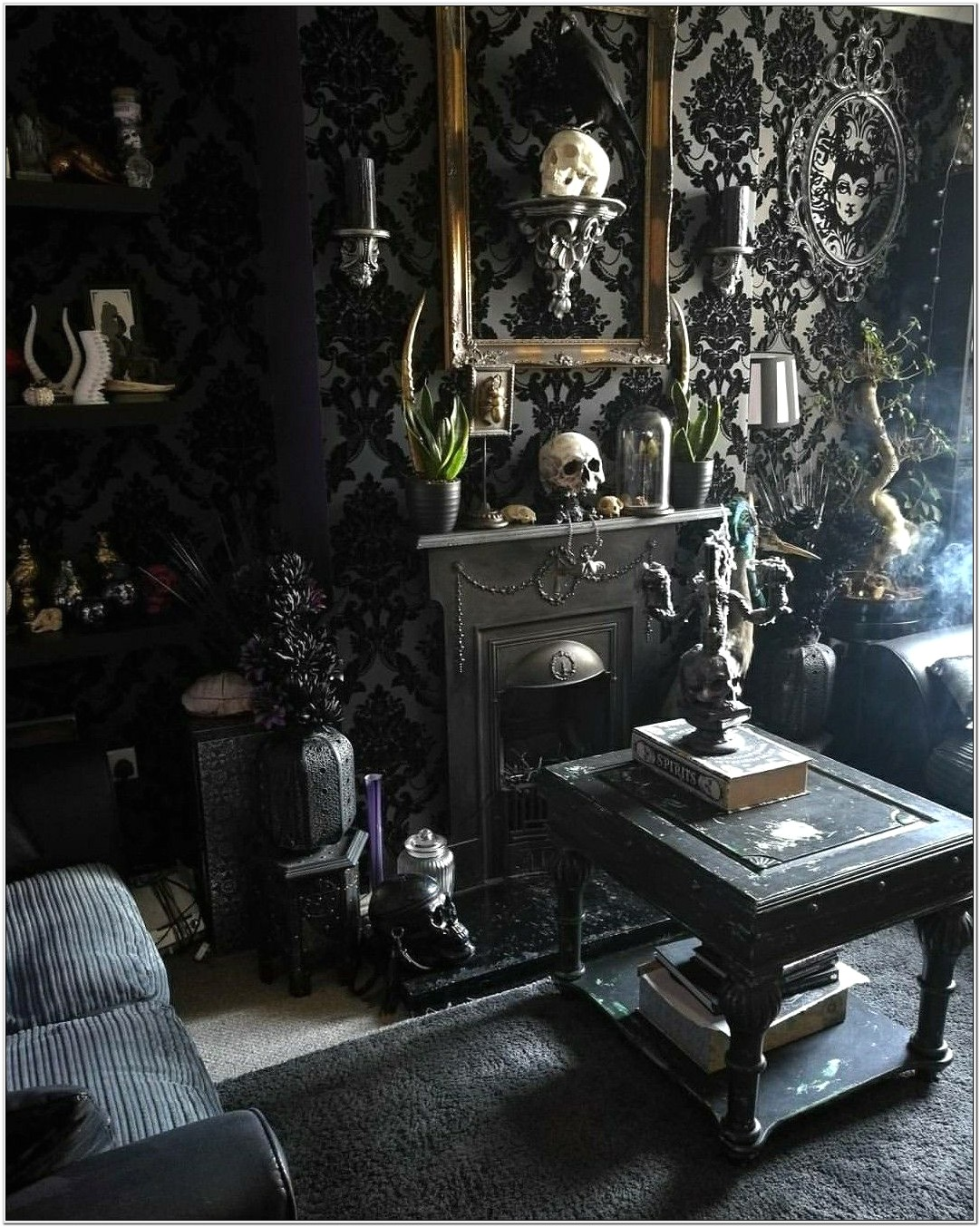 Coffee Table Ideas Gothic Living Room