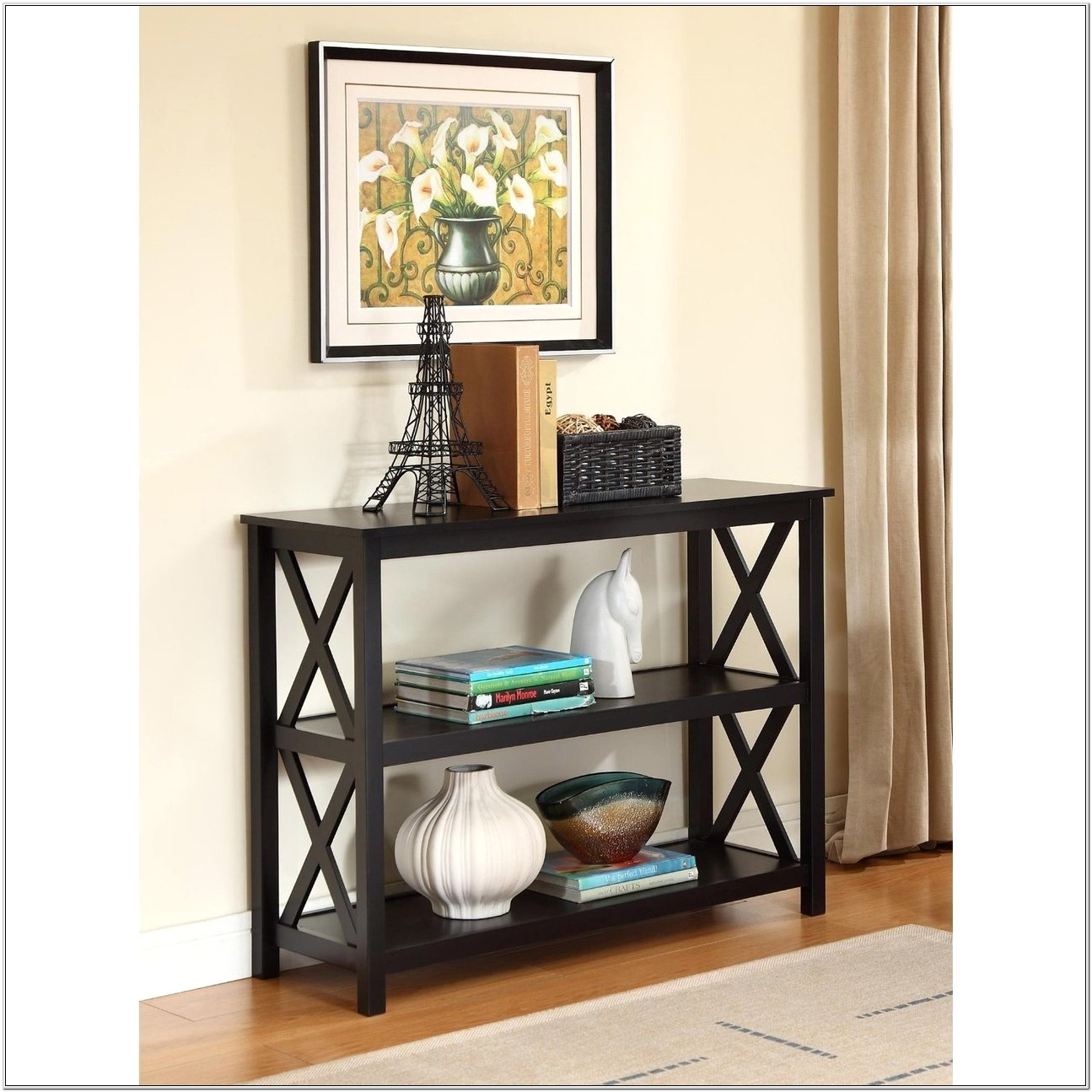 Console Table Living Room Ideas