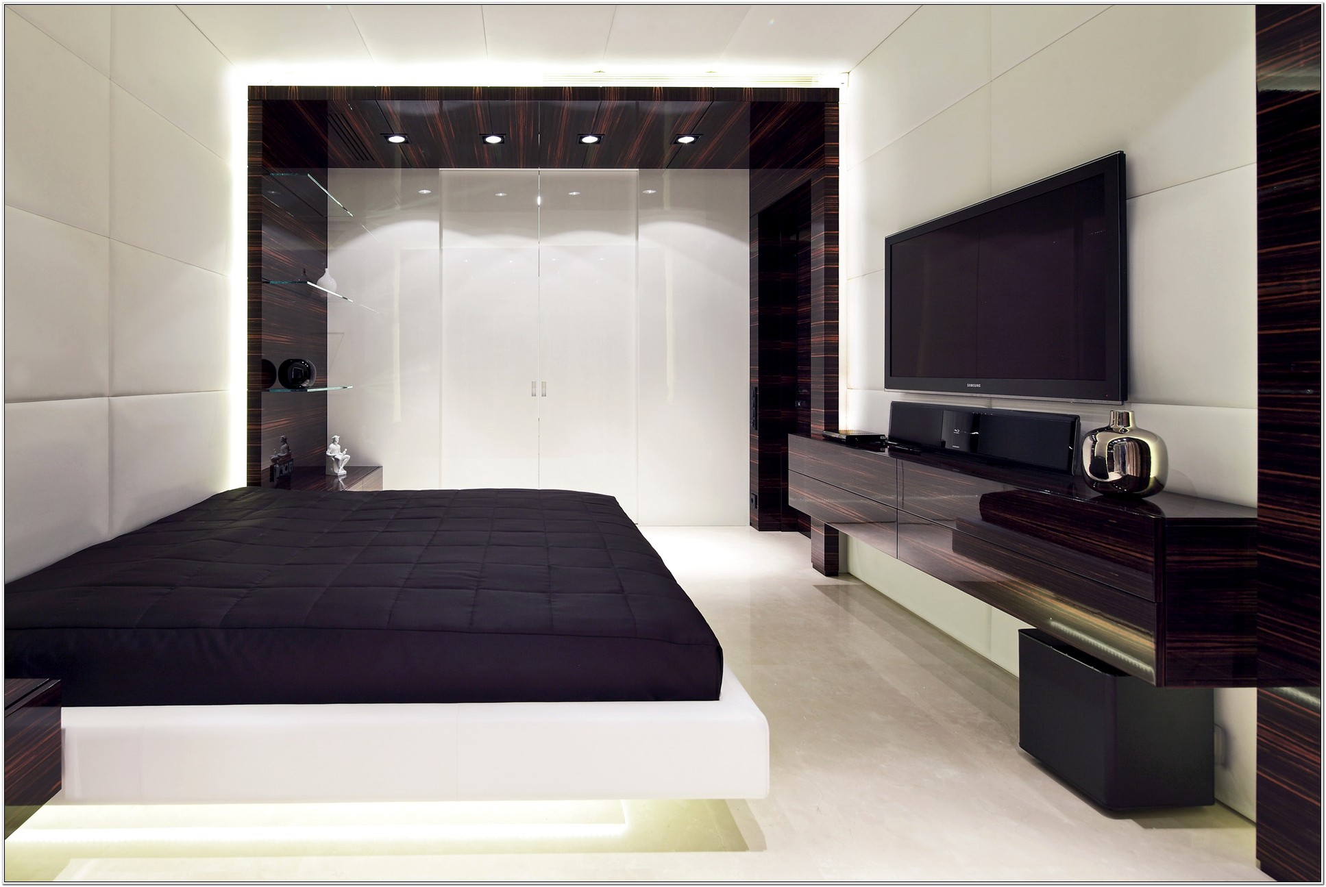 Contemporary Master Bedrooms Decoration