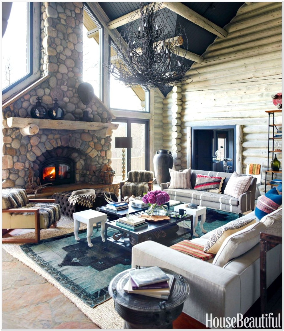 Cozy Living Room With Fire Place Ideas