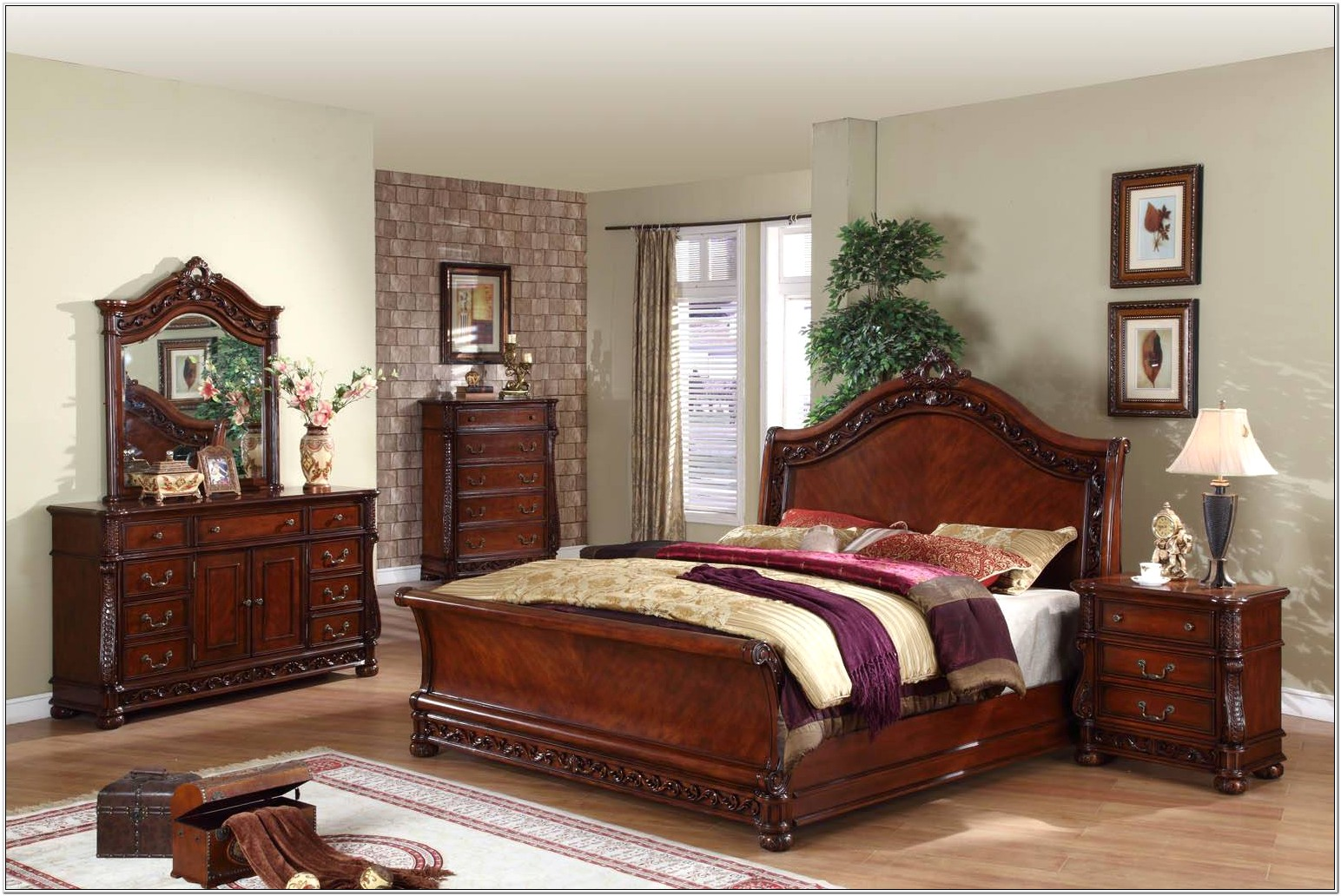 Decorate Room With Old Maple Bedroom Suite