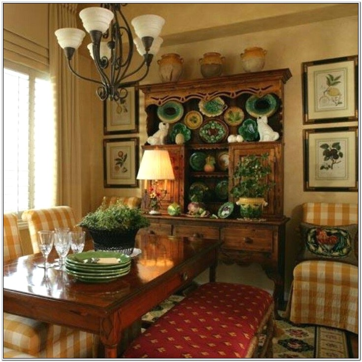Decorating A Green French Country Bedroom