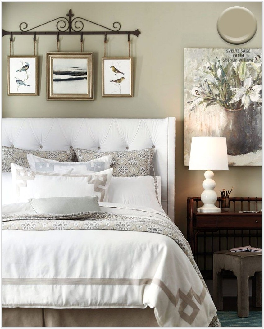 Decorating Bedroom With Sage Green Walls