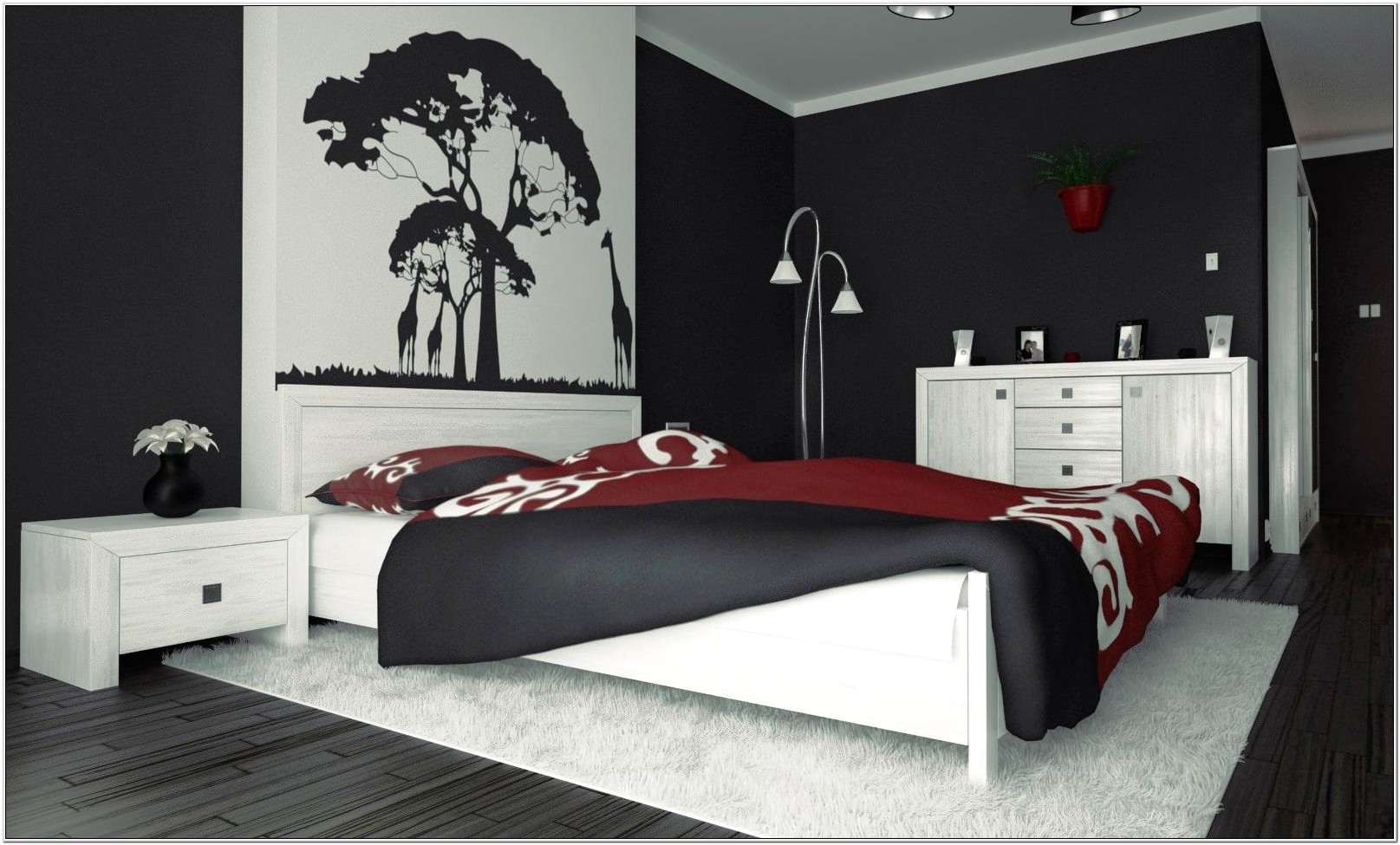 Decoration Ideas For Bedrooms Walls