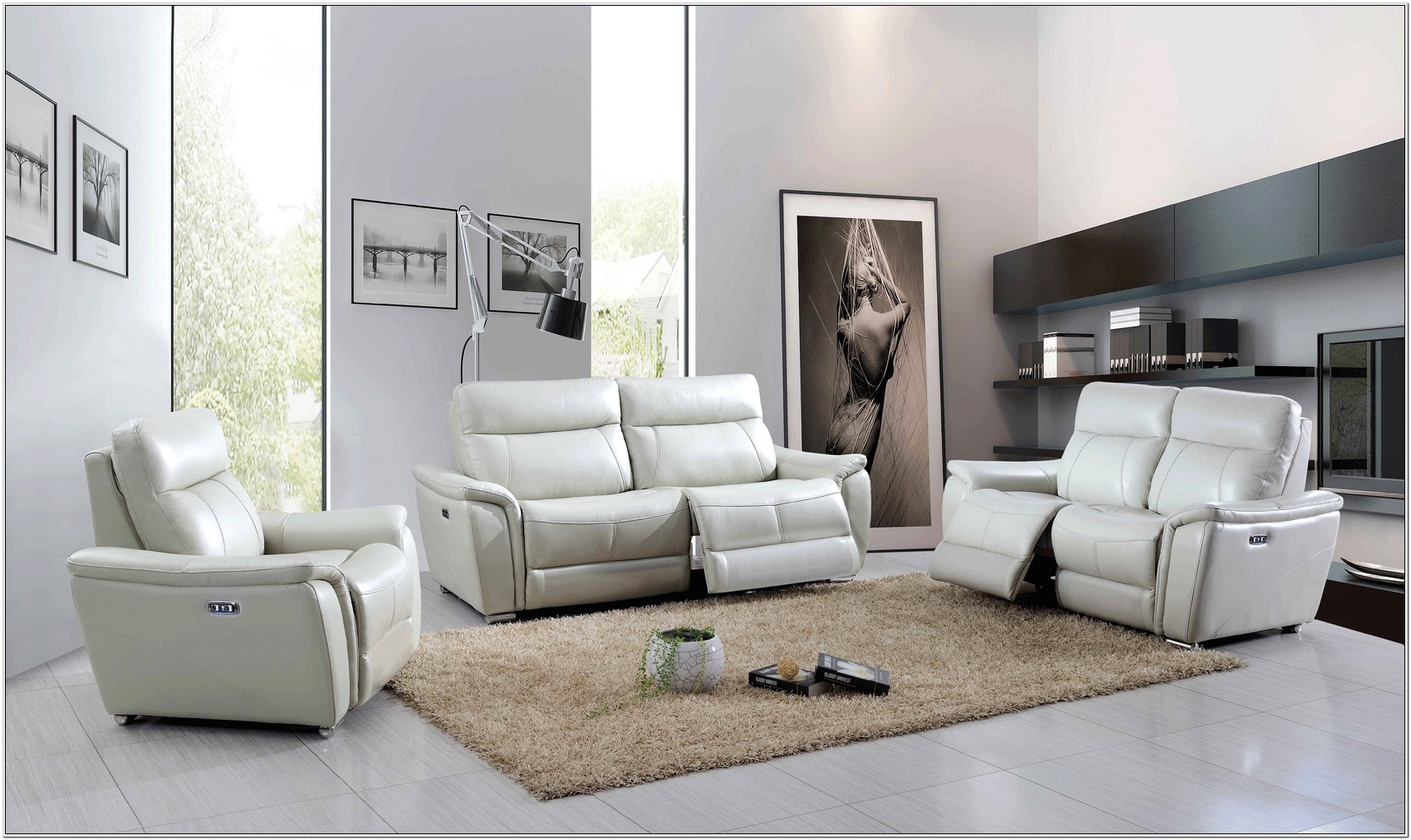 Electric Reclining Living Room Sets