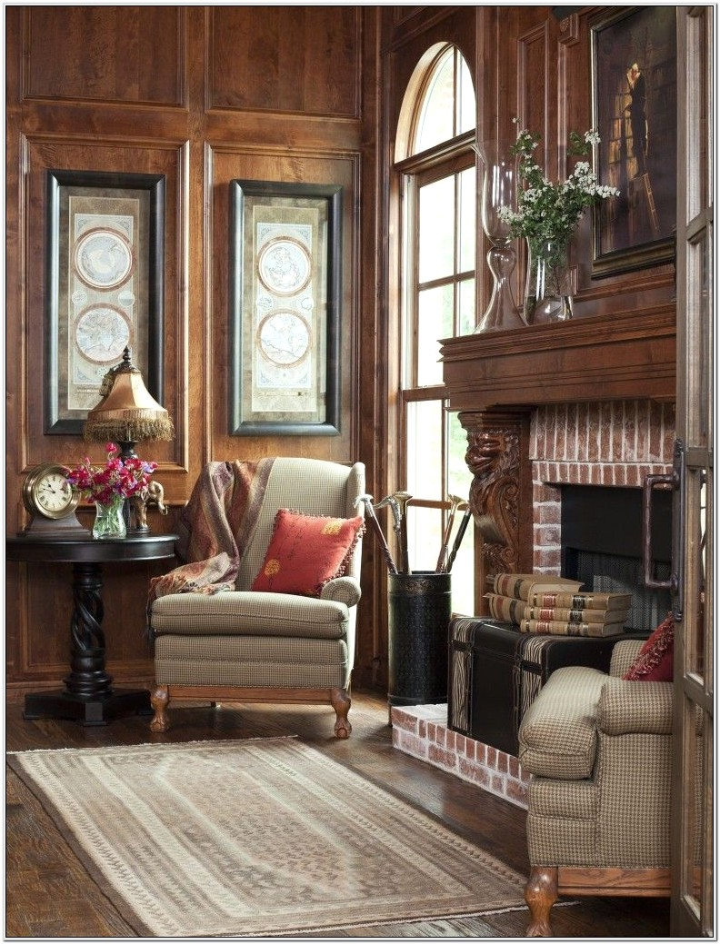 English Country House Living Room Ideas