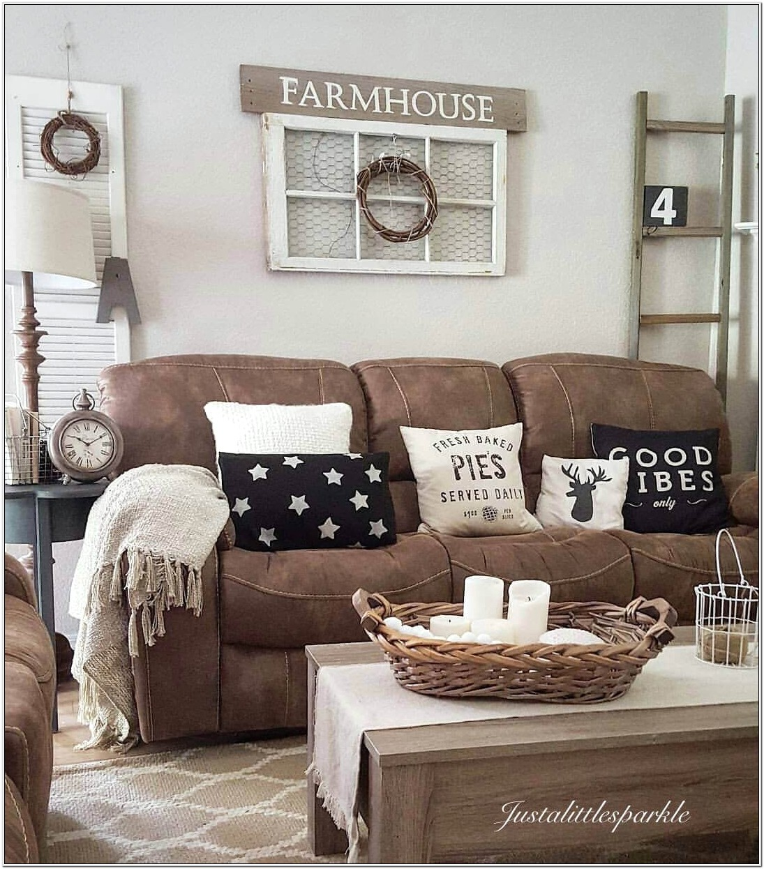 Farmhouse And Rustic Decor For Living Room