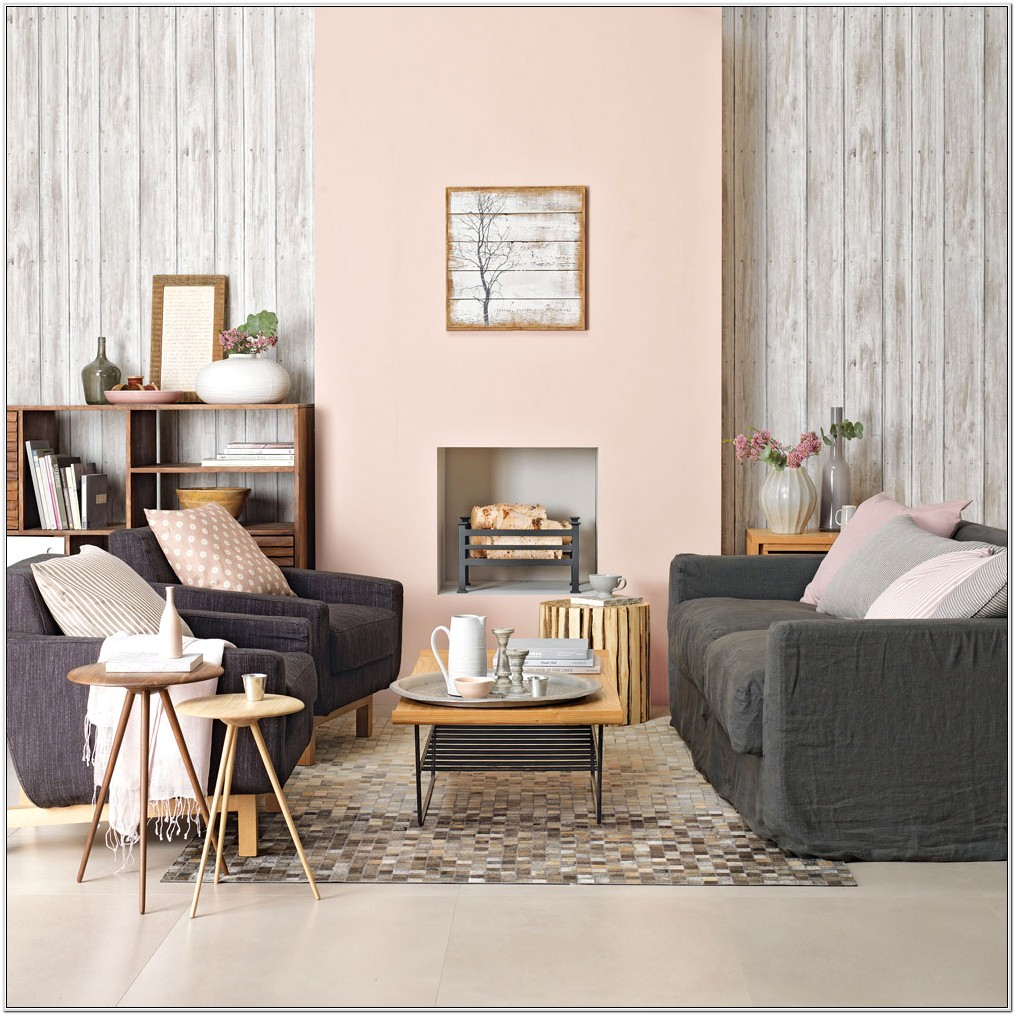 Gray And Pink Living Room Ideas