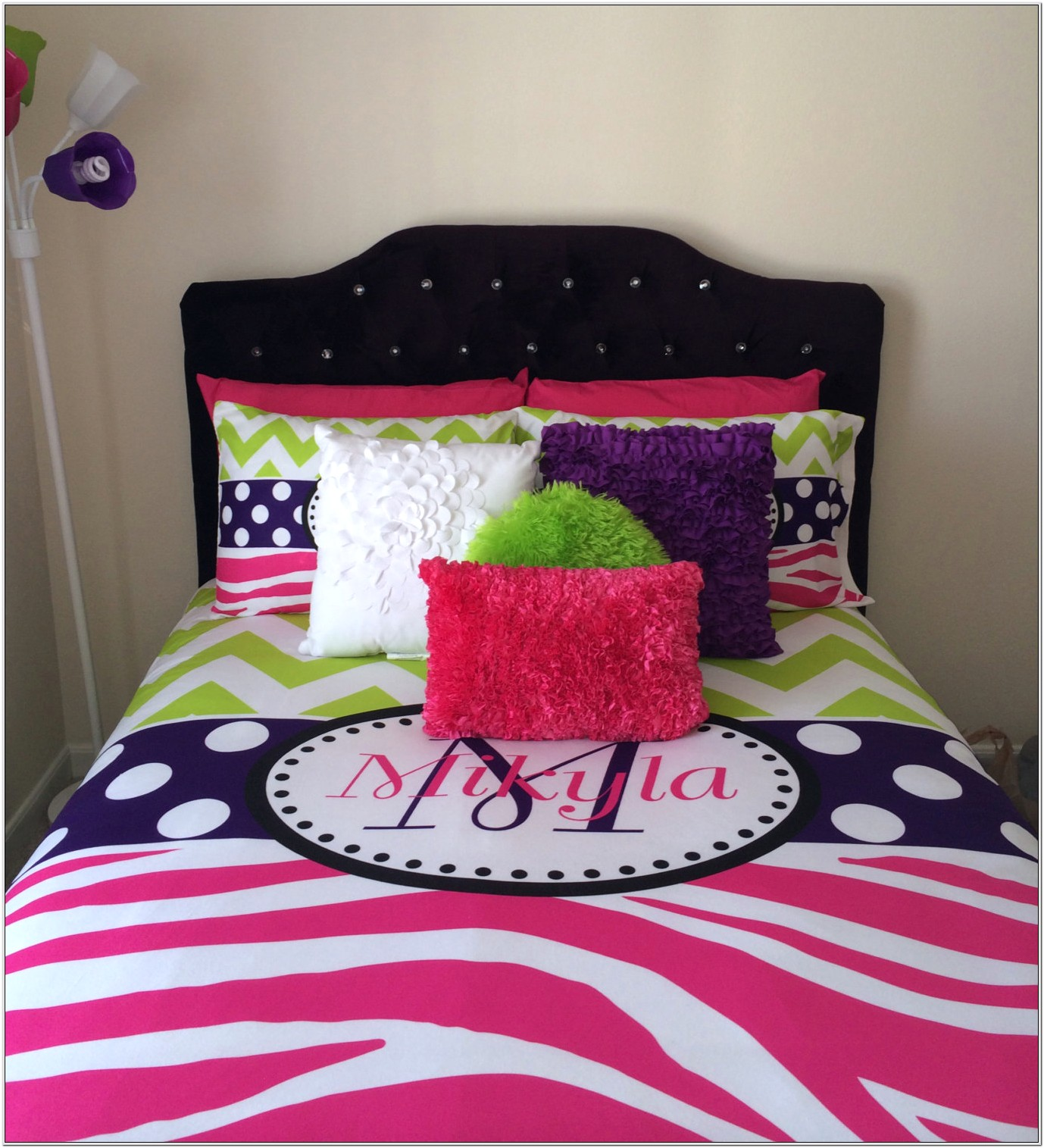 Hot Pink And Lime Green Bedroom Decor