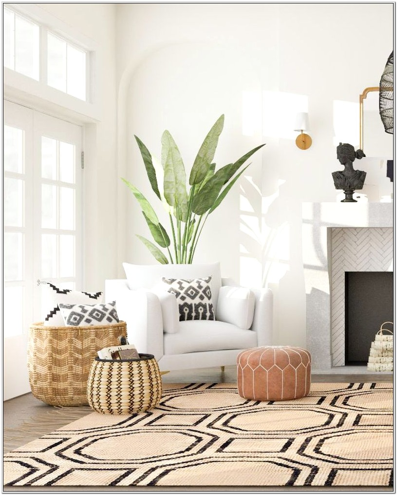 Ideas For Baskets In Living Room