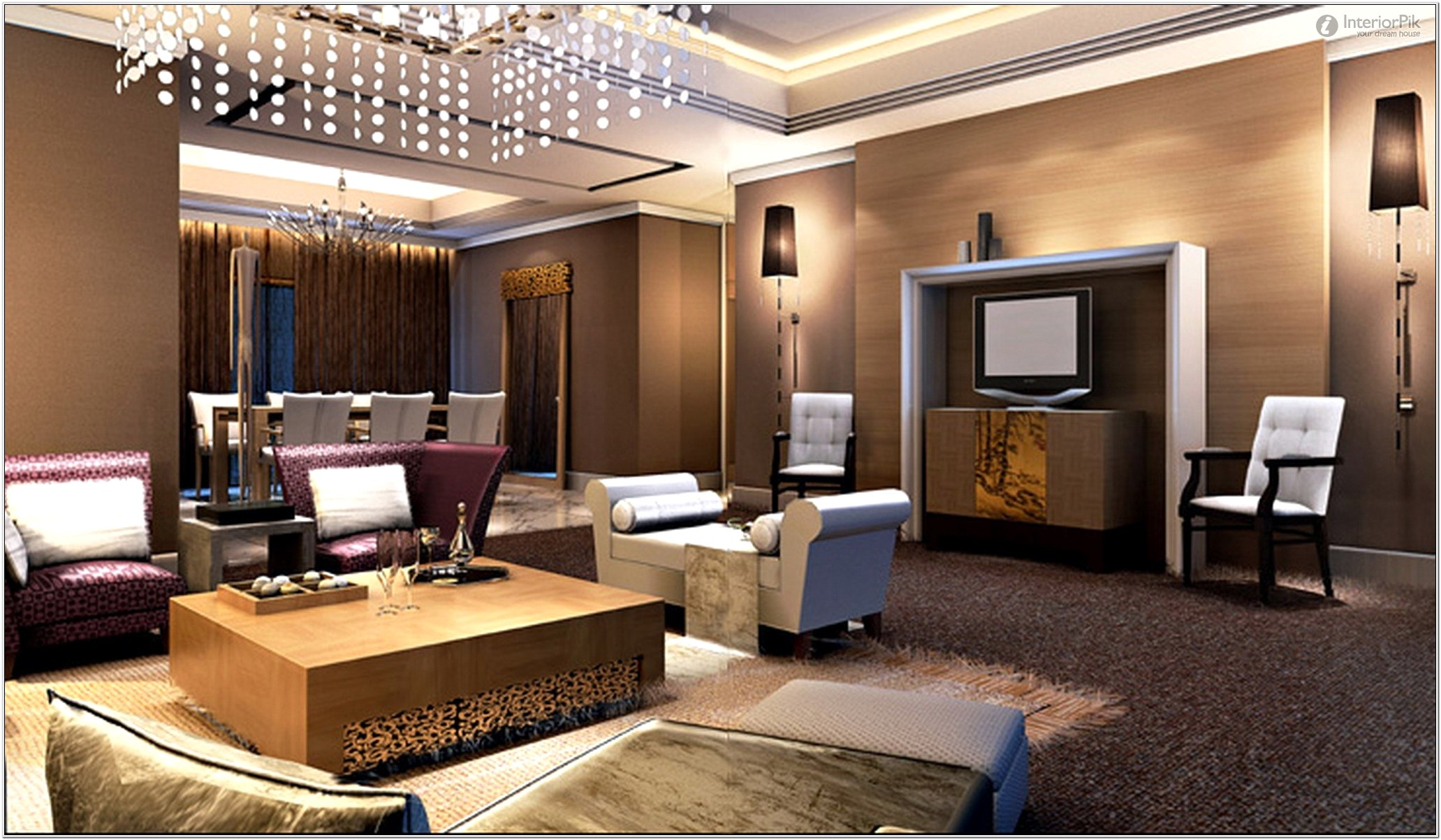 Latest Living Room Designs In India