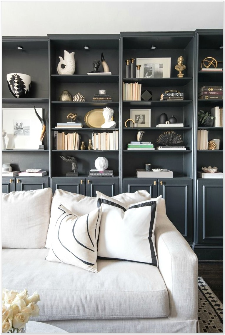 Leather Library Living Room Ideas 2019
