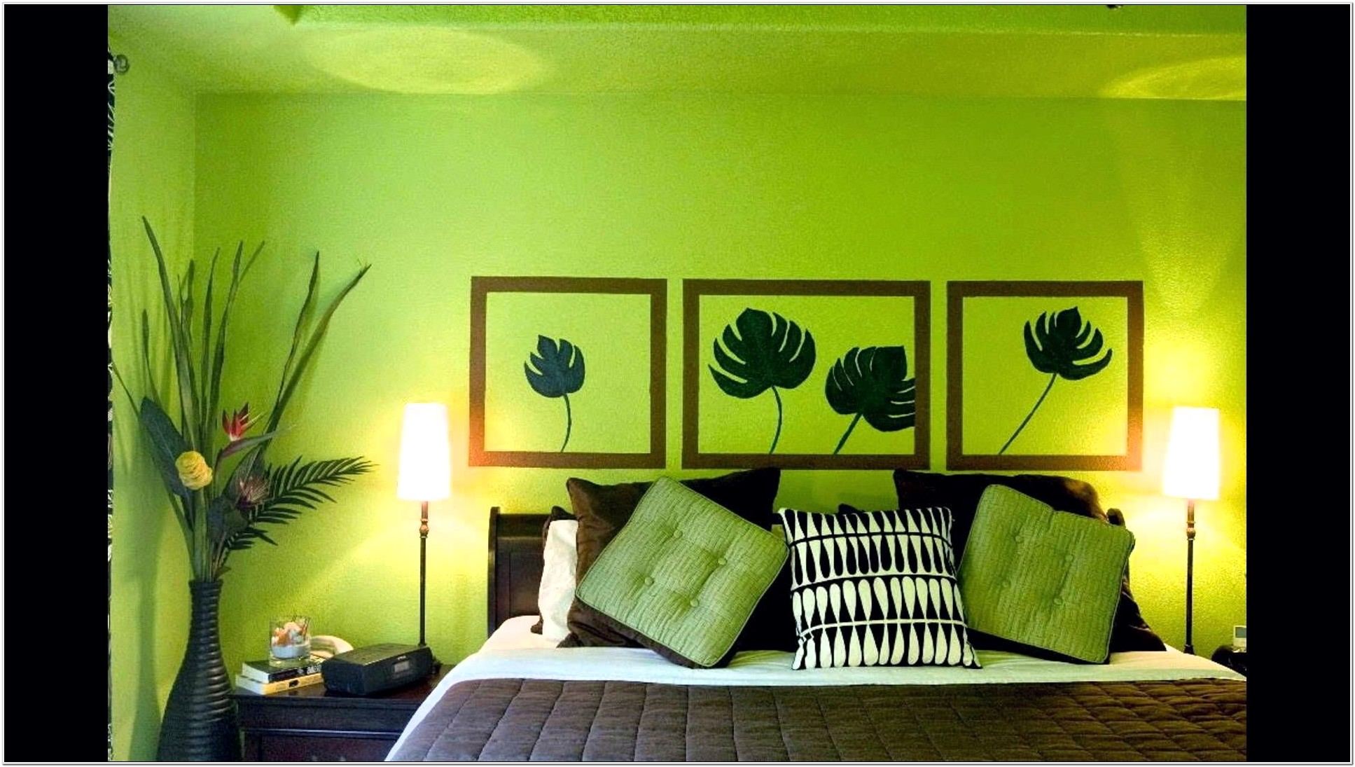 Lime Green And Gray Living Room Ideas