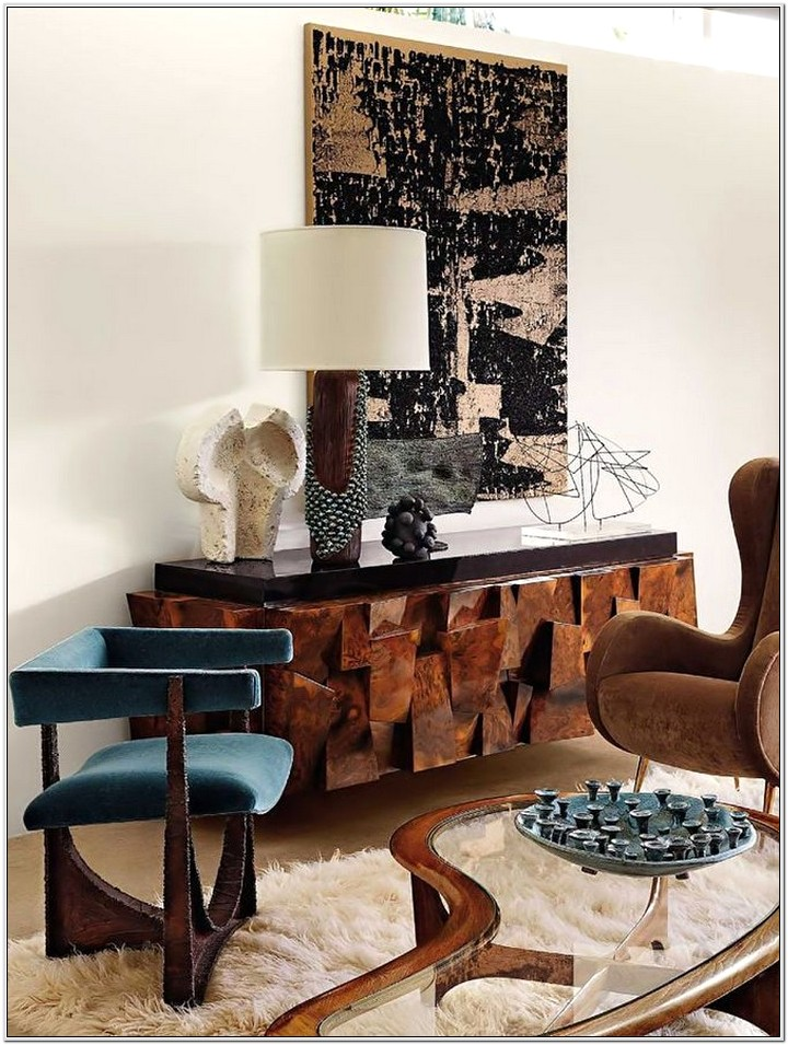 Living Room Console Ideas