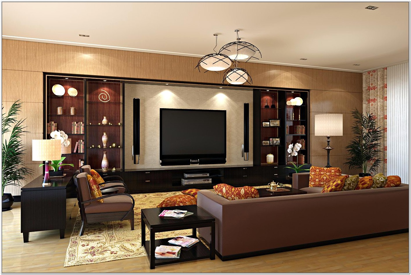 Living Room Decorating Ideas With Entertainment Center