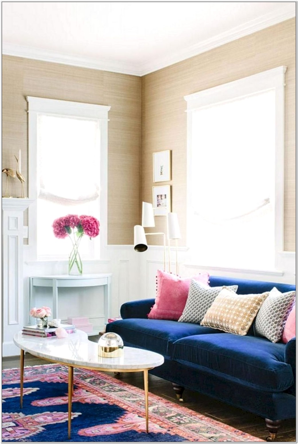 Living Room Design Ideas Blue Couch