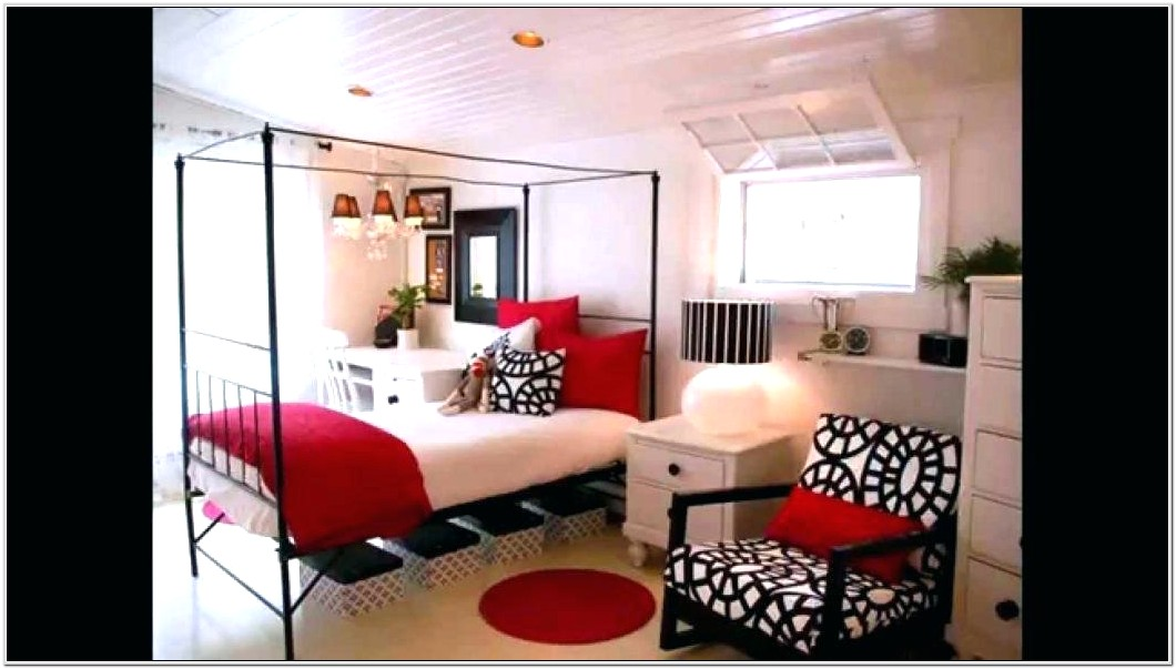 Living Room Ideas Black Red And White
