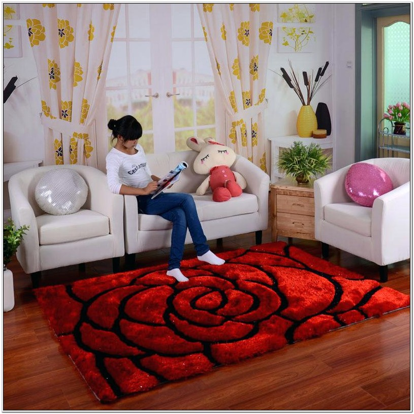 Living Room Ideas With Red Carpet