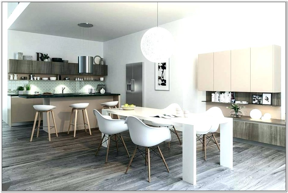 Living Room Open Kitchen Small Space Ideas