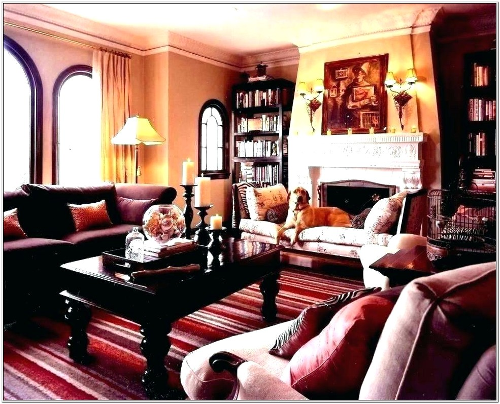 Maroon Couch Living Room Ideas