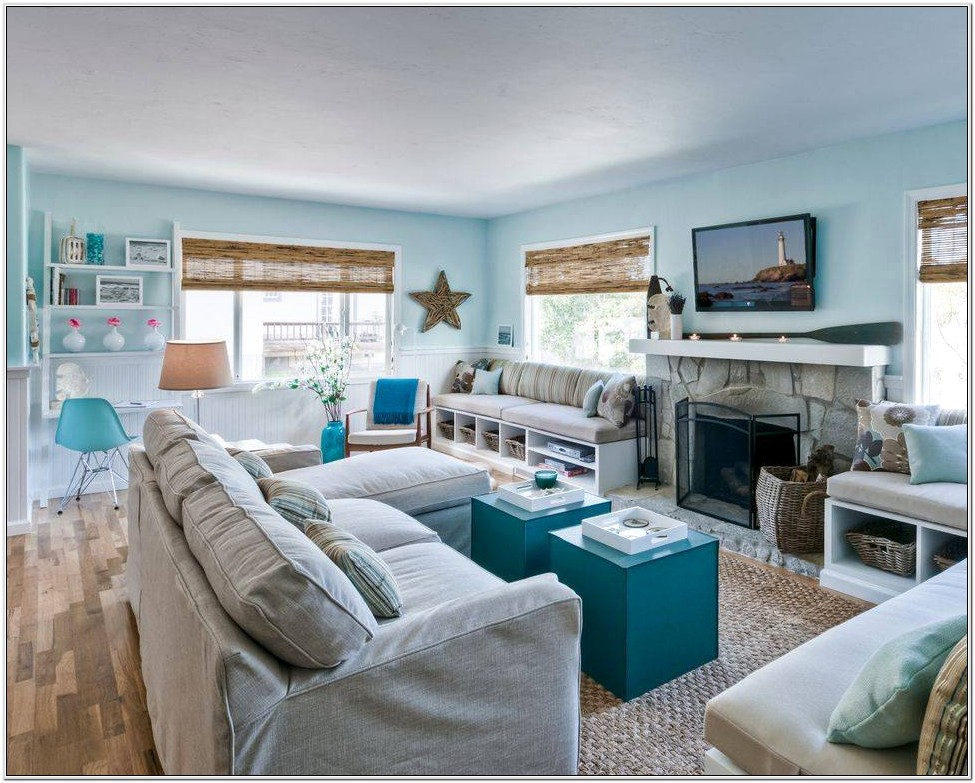 Navy Blue And Green Living Room Ideas