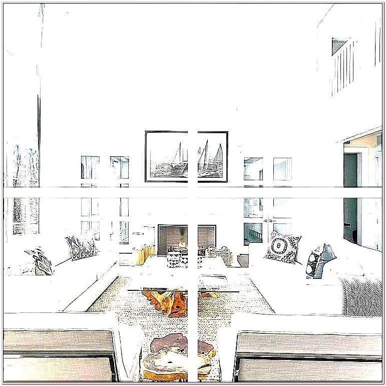 Wall Drawing Ideas For Living Room