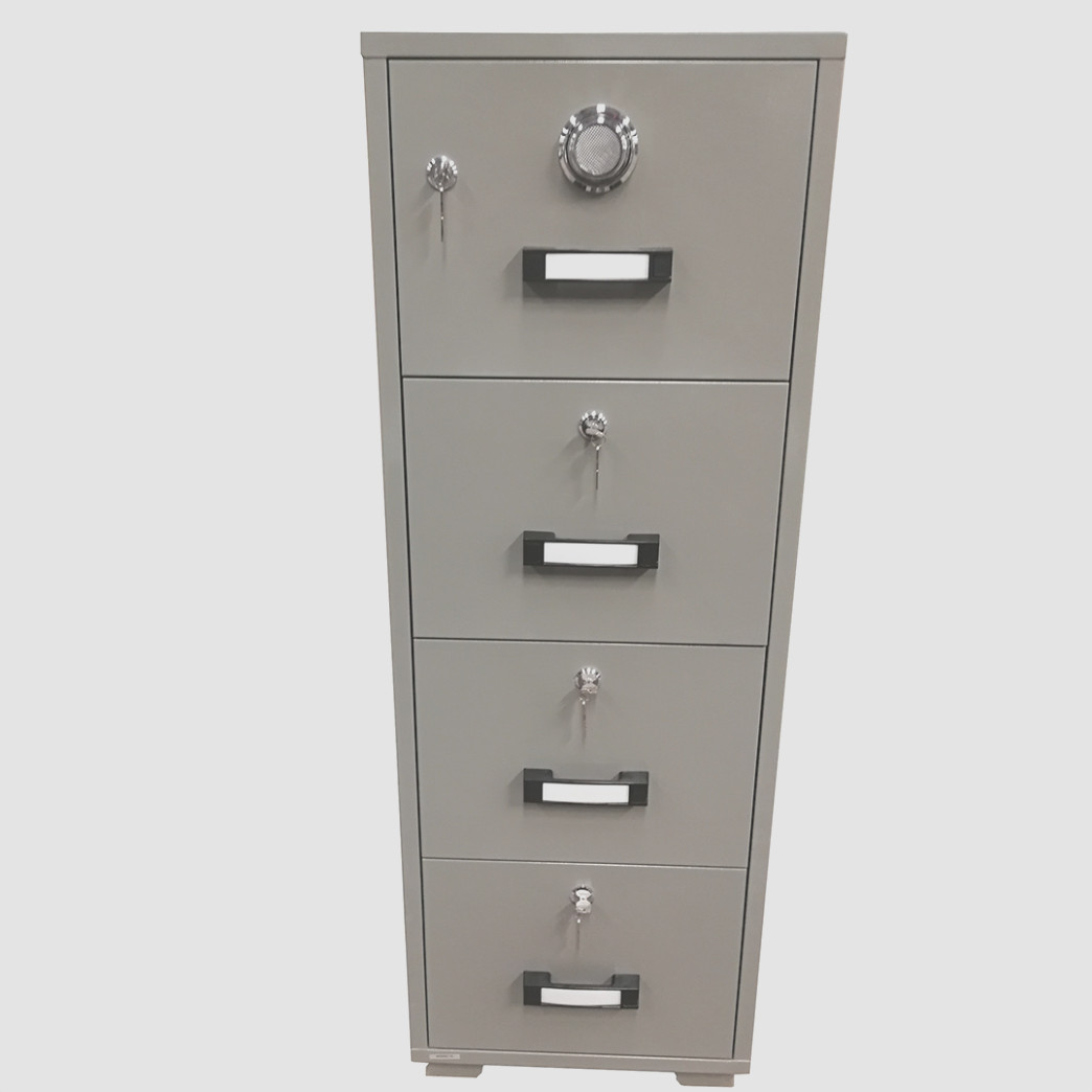1 Drawer Fireproof File Cabinet