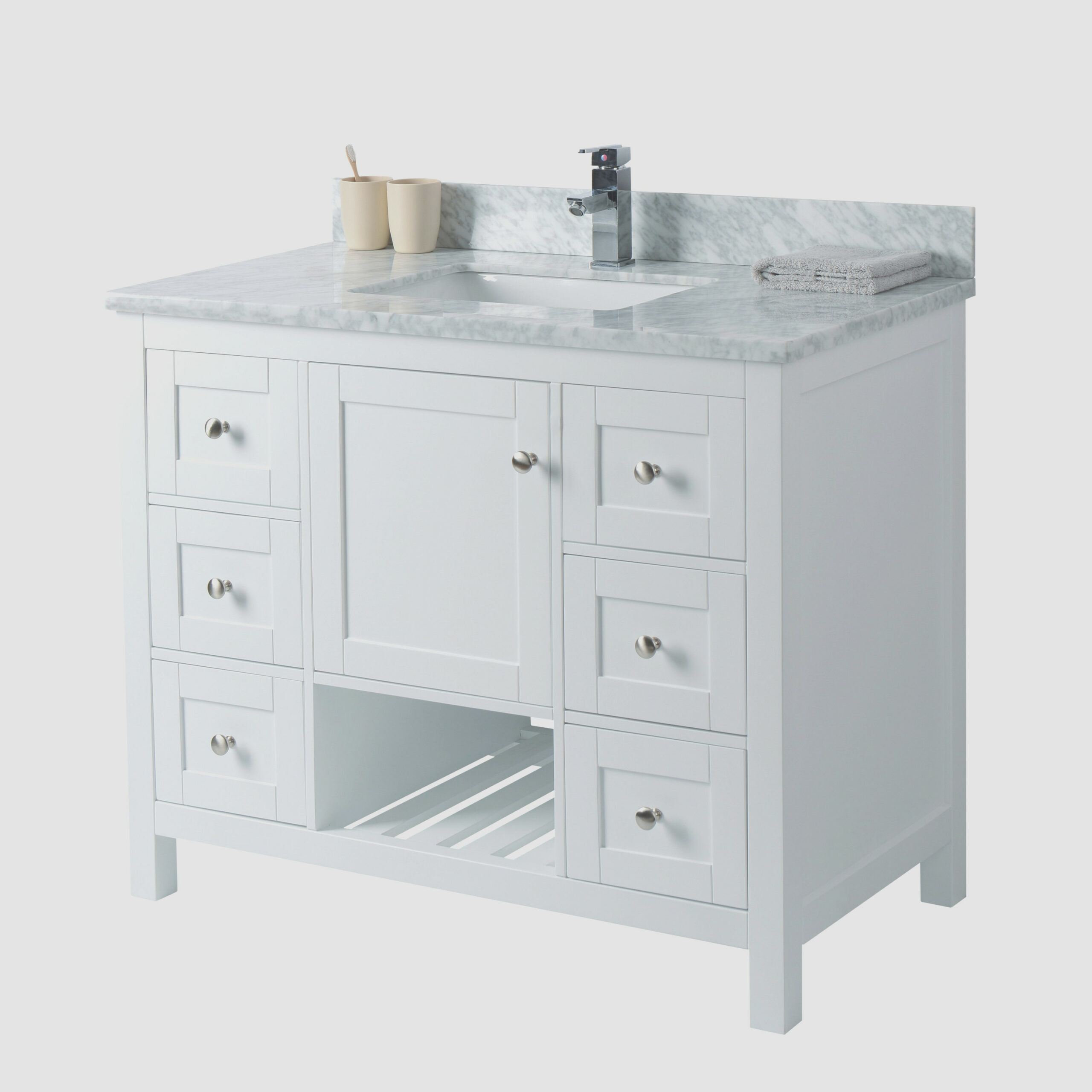 1 Inch Bathroom Vanity Cabinet Only