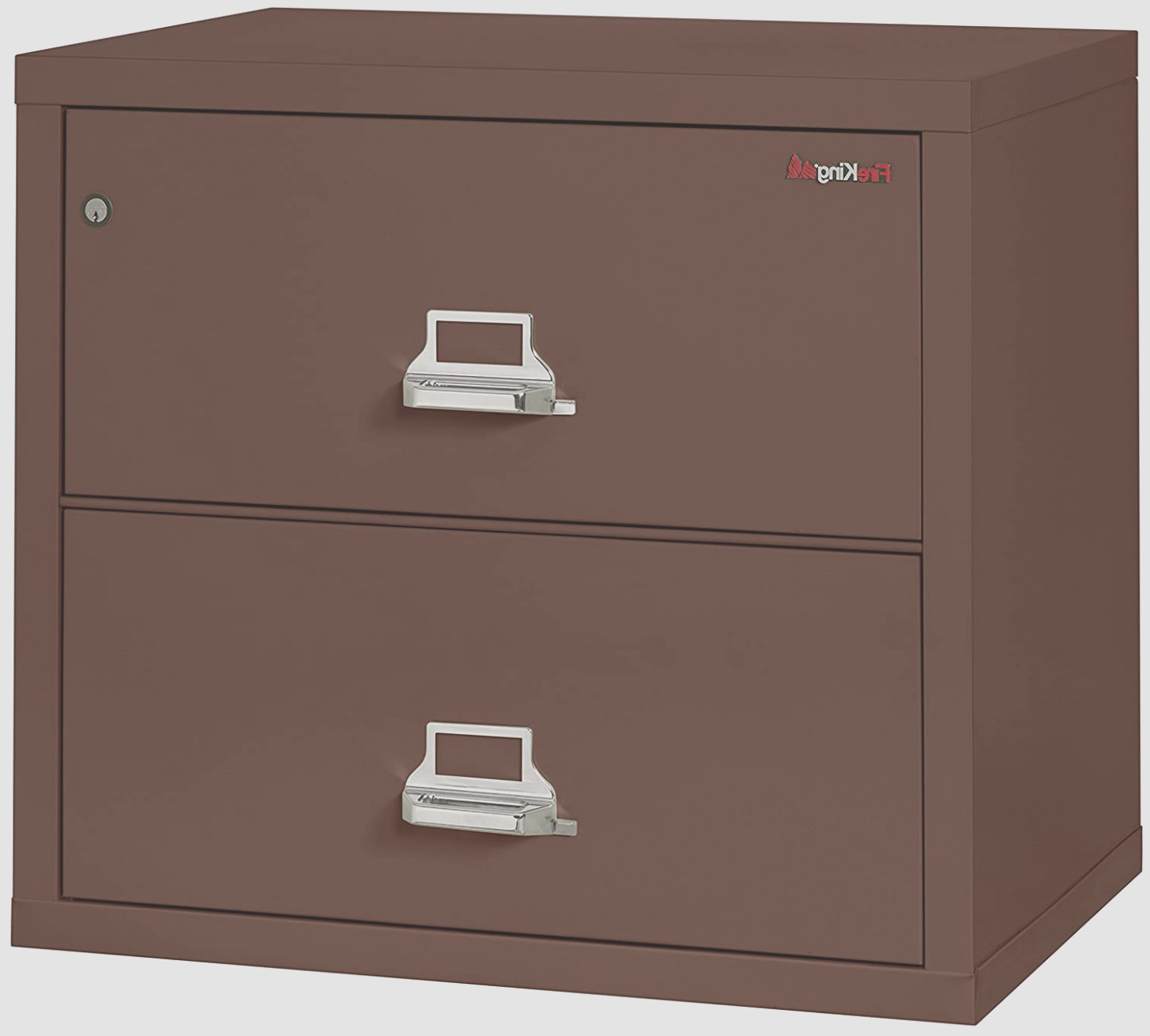 Brown Lateral File Cabinet