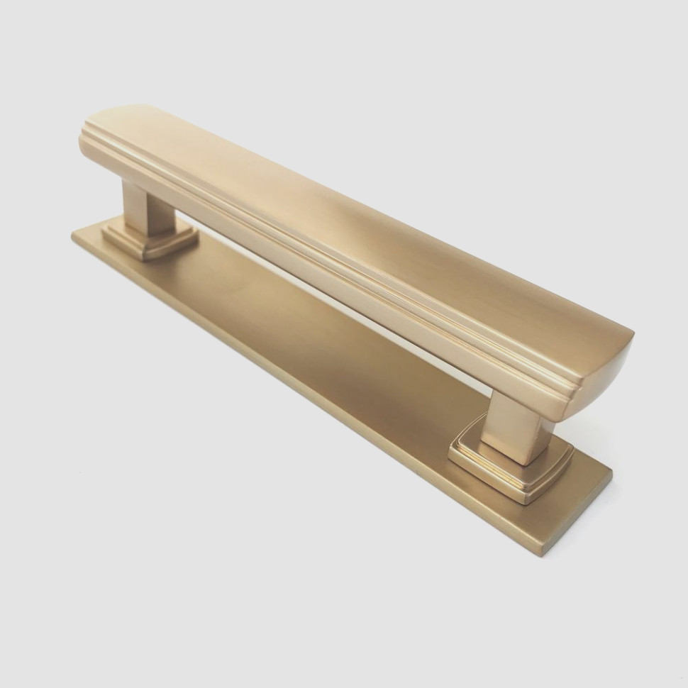 Cabinet Pulls With Backplate