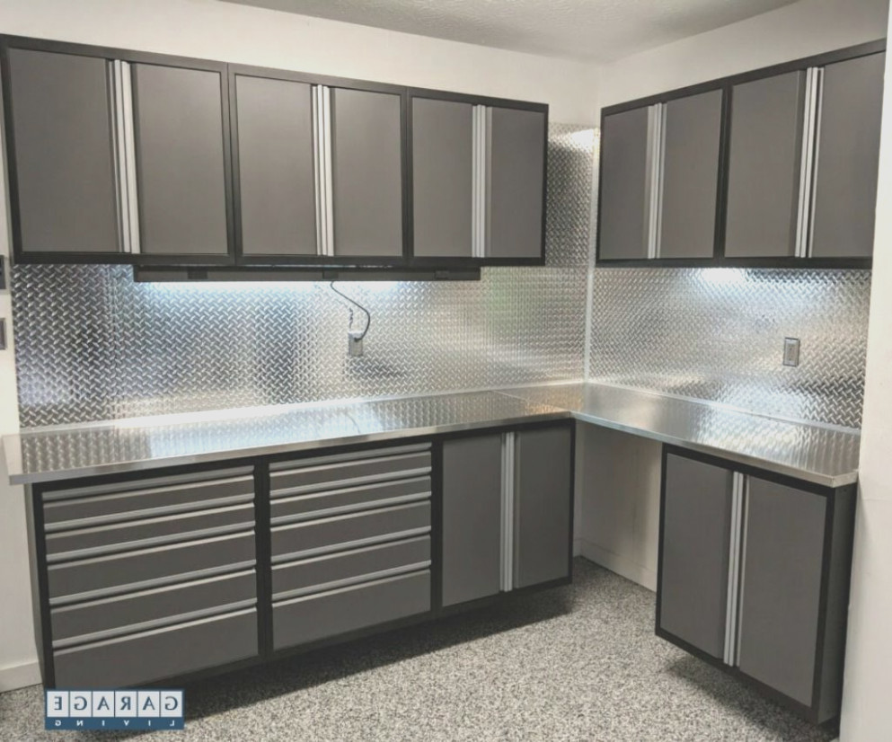 Diamond Plate Cabinets for Garage