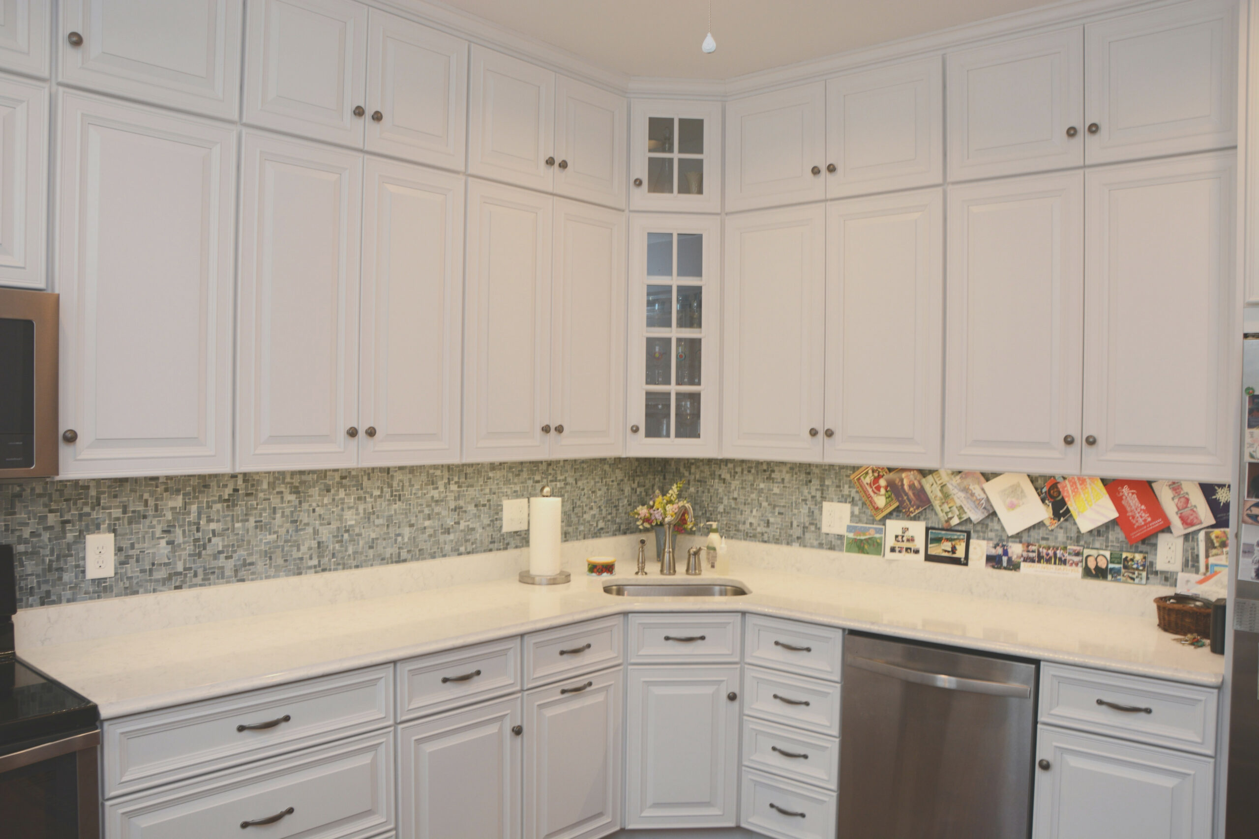 Double Stacked Kitchen Cabinets