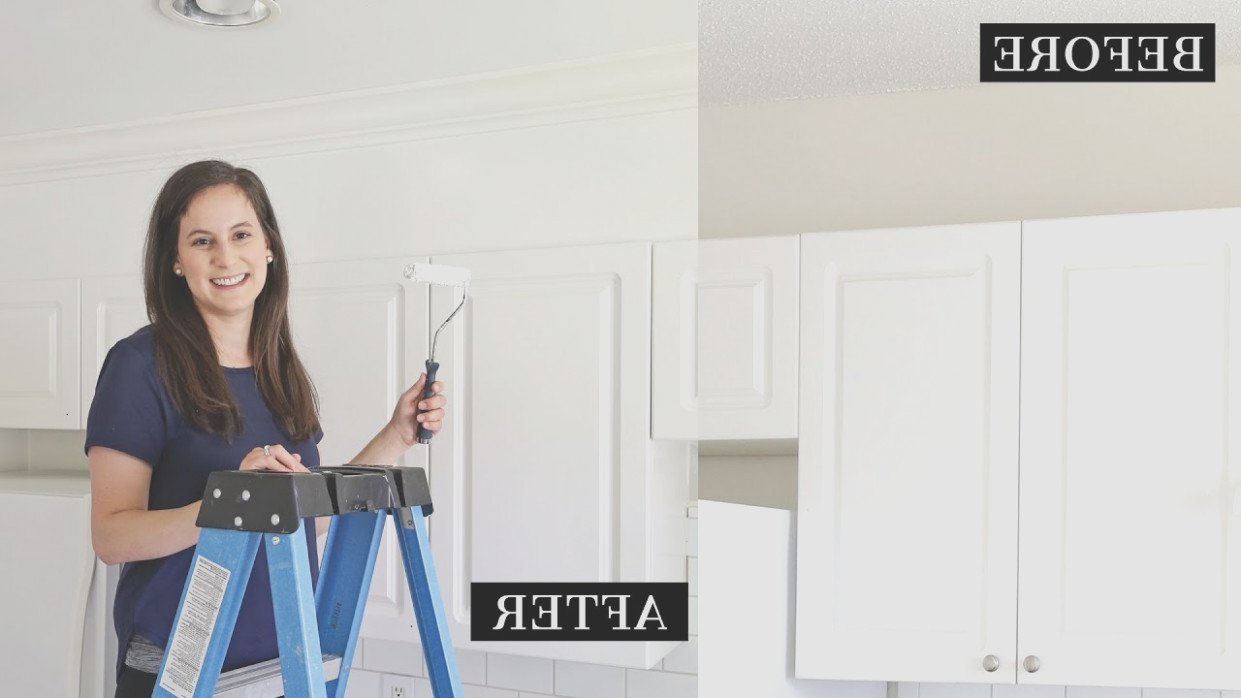 Enclose Space Above Kitchen Cabinets
