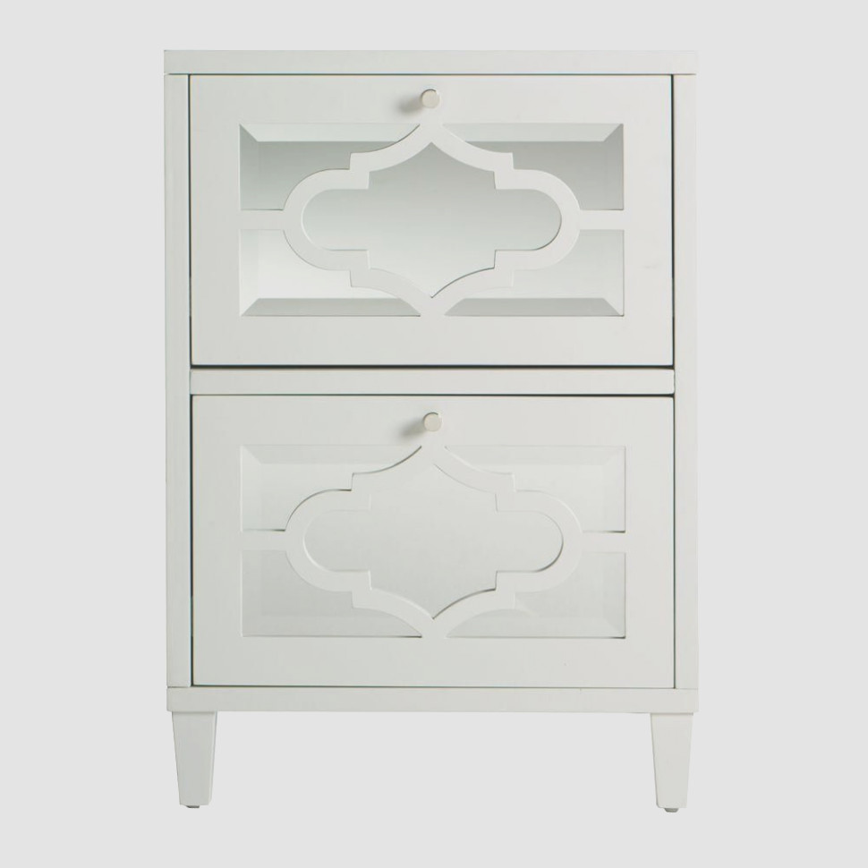 Home Decorators Collection Reflections White File Cabinet