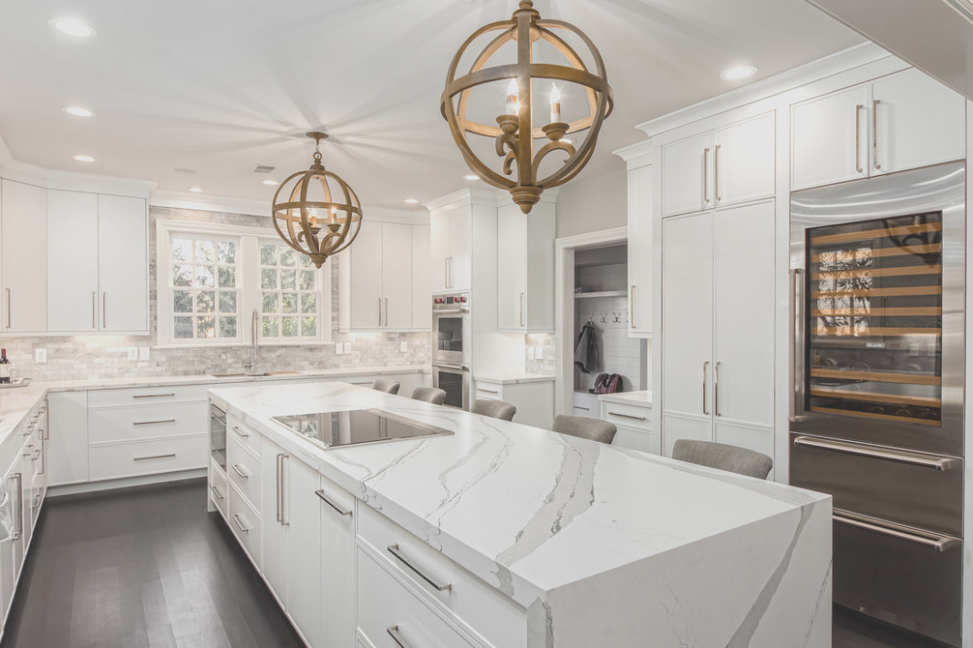 Kitchen Cabinets to 1 Foot Ceiling