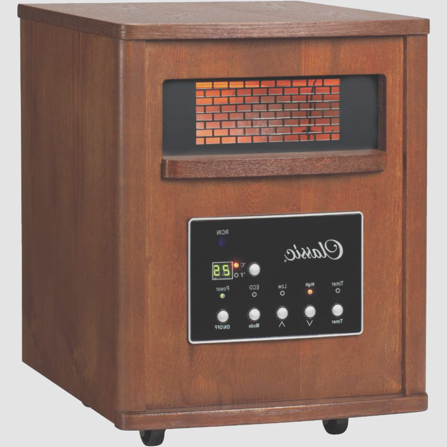 Noma Wooden Cabinet Infrared Heater