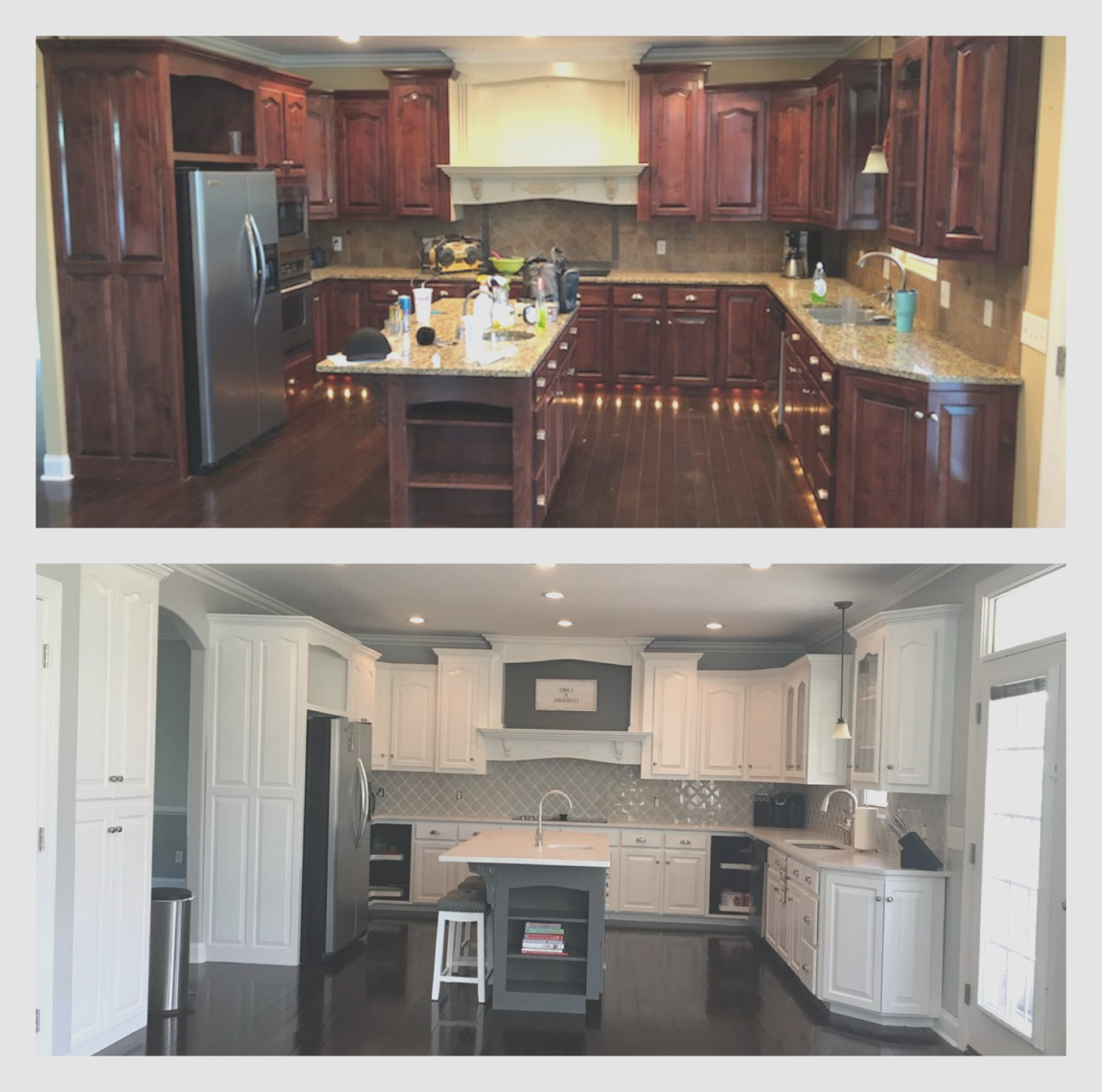 Painting Cherry Wood Cabinets