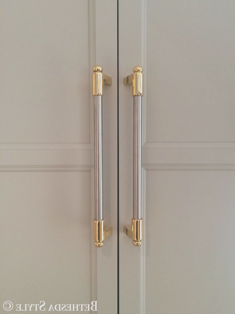 Two Tone Cabinet Pulls