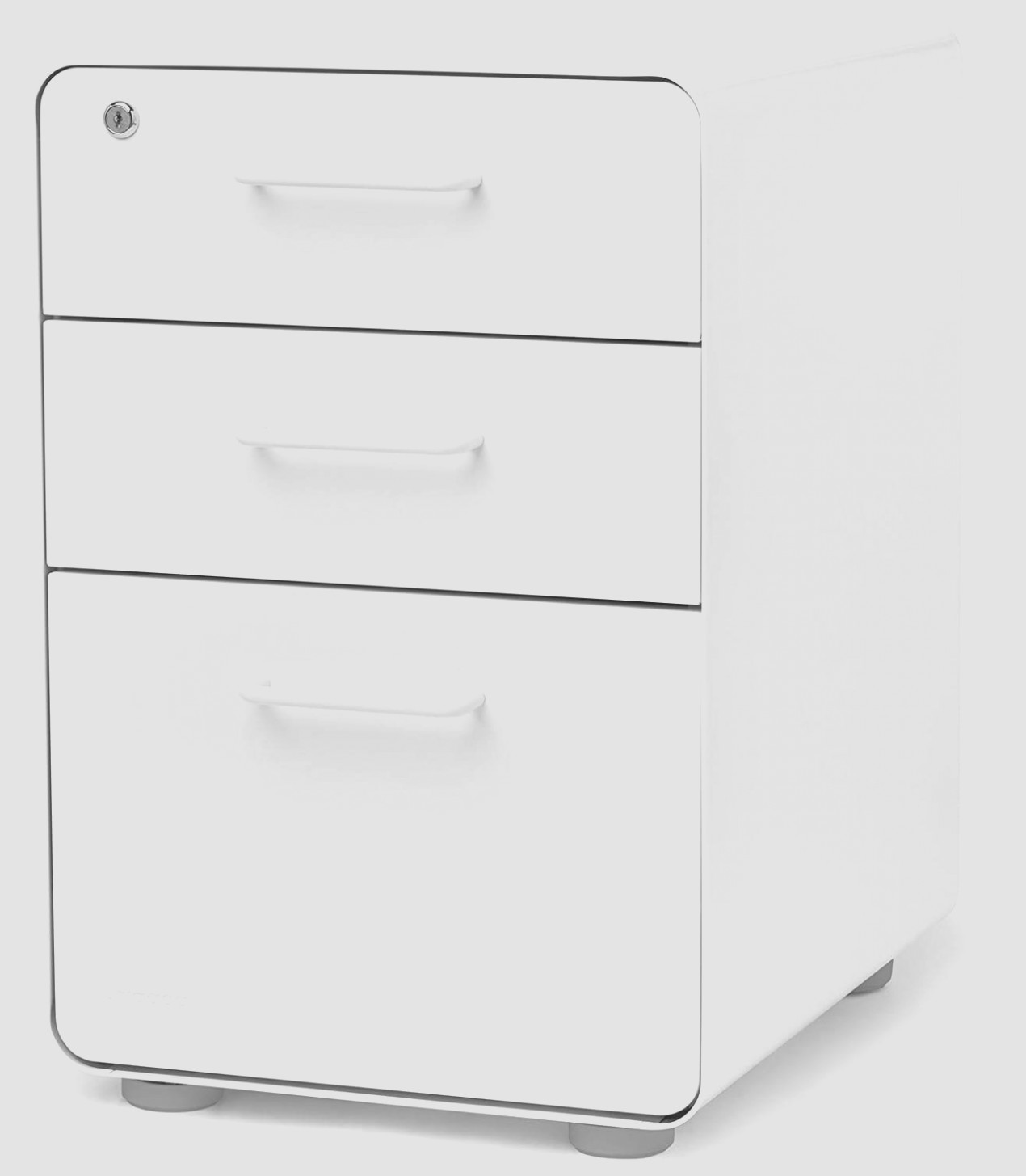 White File Cabinet With Drawers
