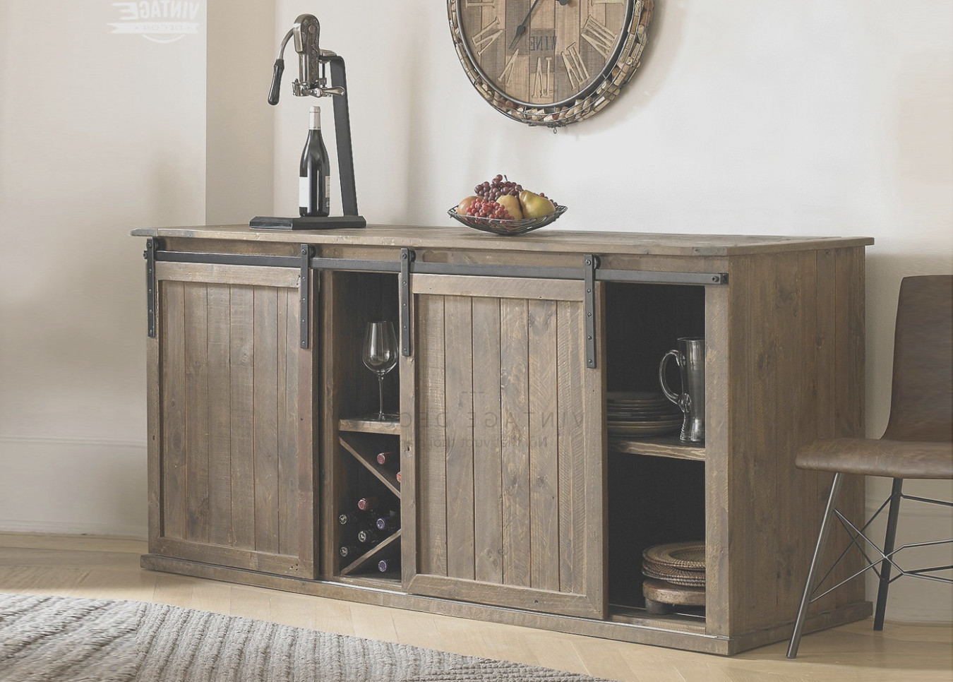 Bar Cabinet With Beer Fridge